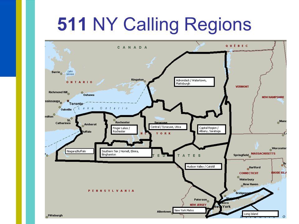 511 NY Calling Regions