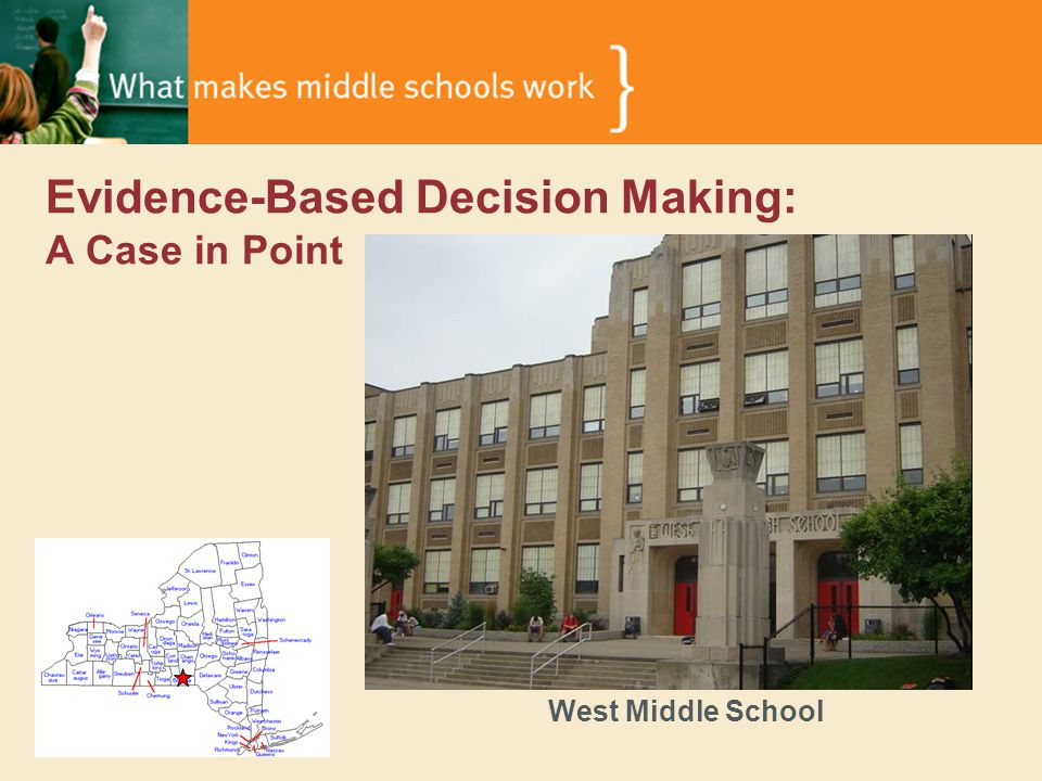 Evidence-Based Decision Making: A Case in Point West Middle School