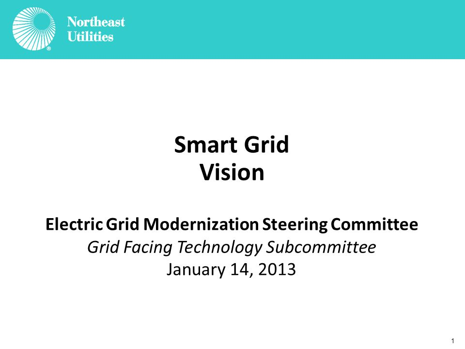12 Summary Smart Grid's central purpose is to cost effectively improve the reliability, efficiency, and security of the electrical system Maintaining reliability continues to be a major focus area as distributed resources and electric vehicles become more commonplace Deployment of grid modernization programs must be conducted with a focus on capturing efficiencies and long- term value for customers Pilots of new technologies represent a valuable opportunity to quantify costs and identify potential benefits in order to inform implementation decisions Excellent communication and shared objectives among all stakeholders is critical to the success of grid modernization programs