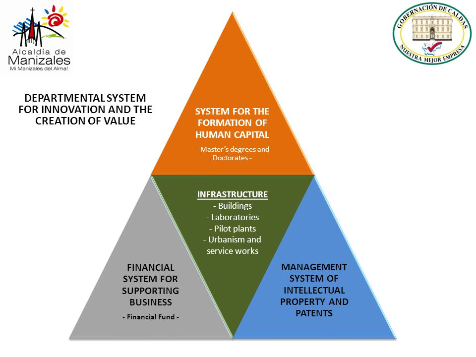 DEPARTMENTAL SYSTEM FOR INNOVATION AND THE CREATION OF VALUE