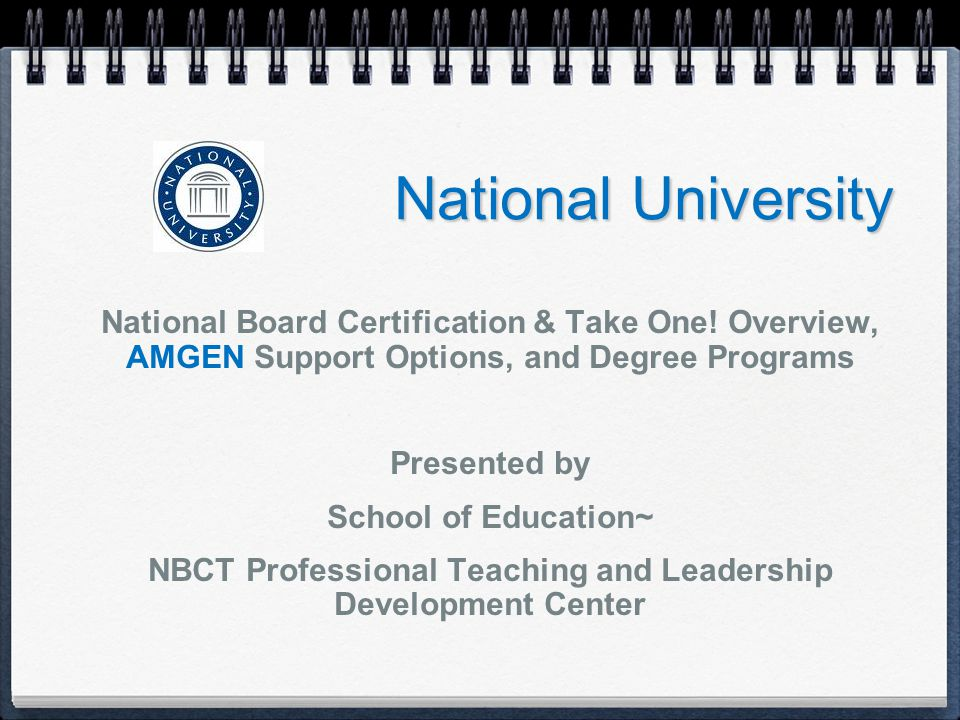NBC Courses ( 5 ) NBC 1201x Measuring and Informing Quality Instruction, Teaching and Leadership (overview) NBC 681 Teaching, Learning, & Membership in Learning Communities Entry 4 NBC 682 Evidence of Student Learning, A: Entry 2 or 3 NBC 683 Evidence of Student Learning, B: Entry 1 NBC 639 Accomplished Teacher-Leadership Portfolio Capstone Project (thesis)