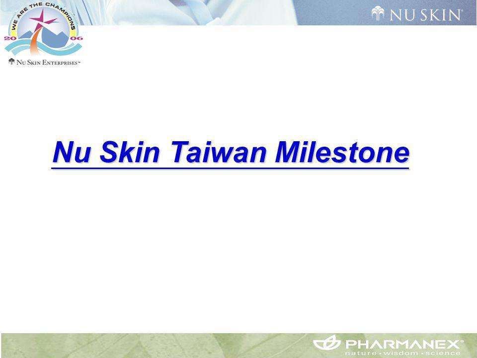 Nu Skin Taiwan Milestone