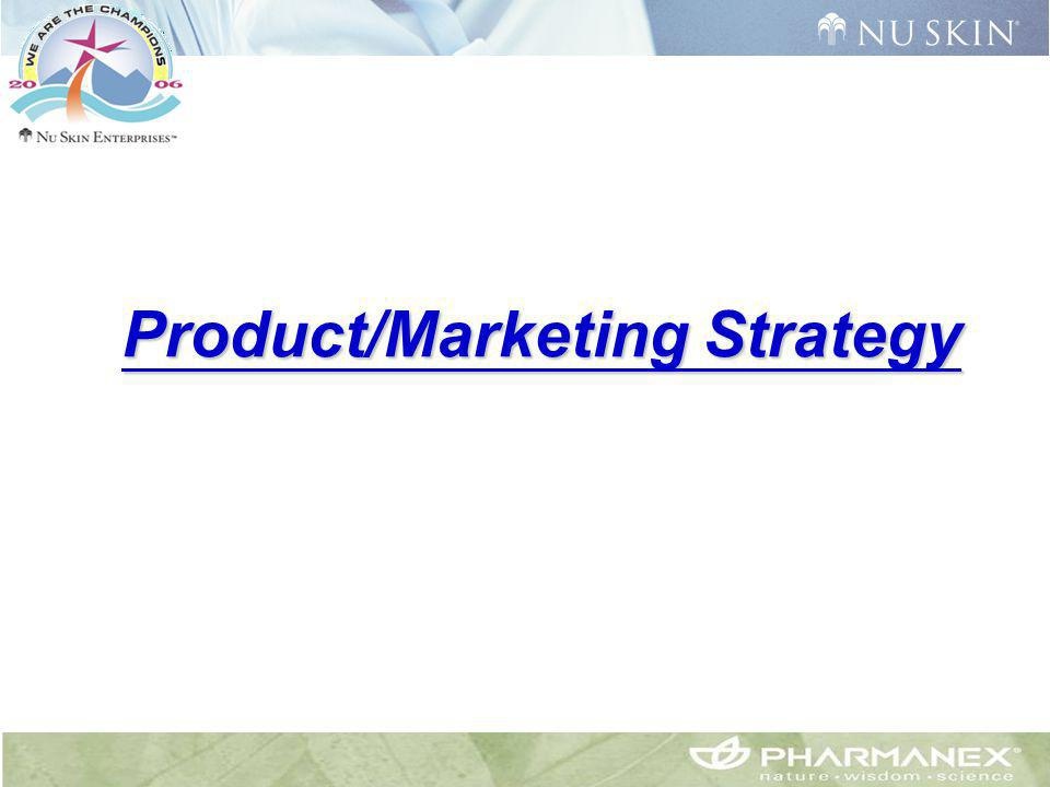 Product/Marketing Strategy