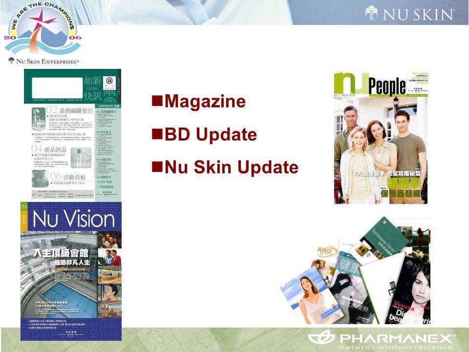 Magazine BD Update Nu Skin Update