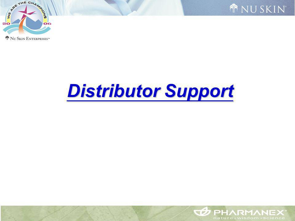 Distributor Support