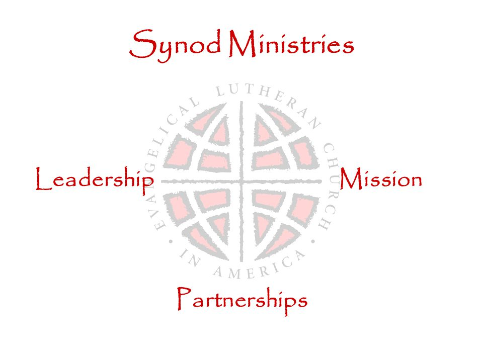 Synod Ministries LeadershipMission Partnerships