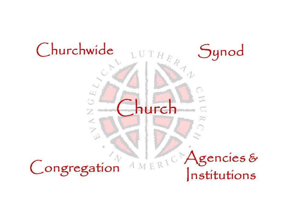 Church Churchwide Synod Congregation Agencies & Institutions
