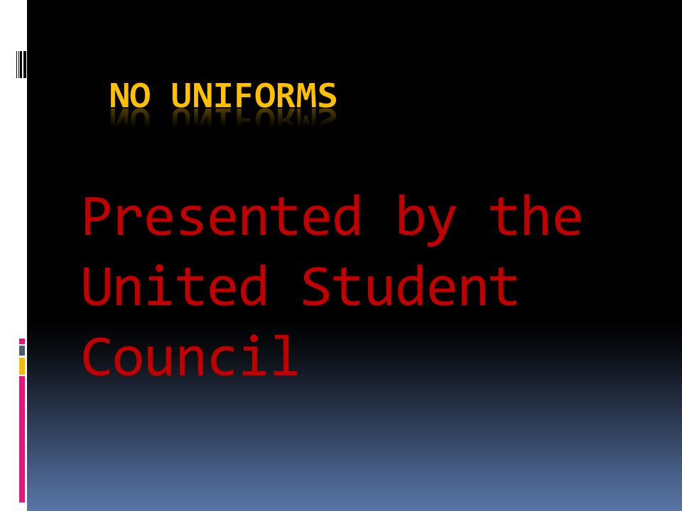 Presented by the United Student Council