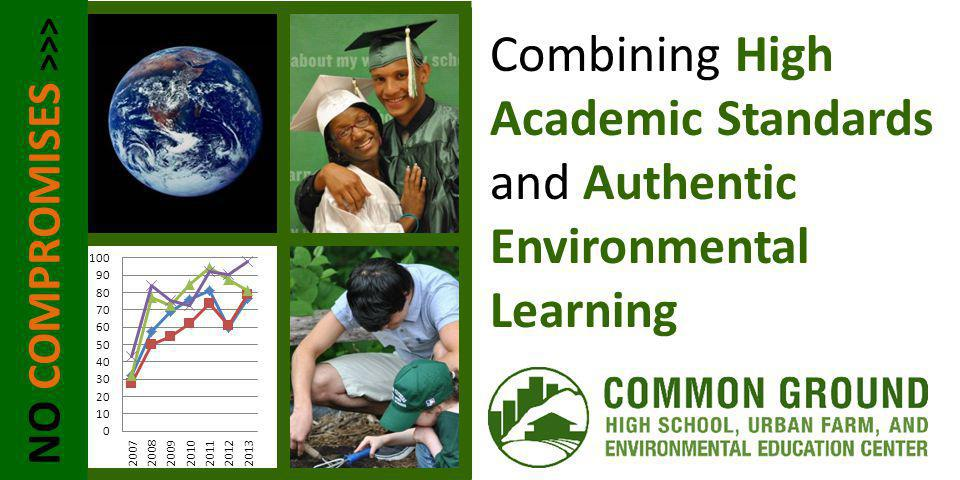 NO COMPROMISES >>> Combining High Academic Standards and Authentic Environmental Learning