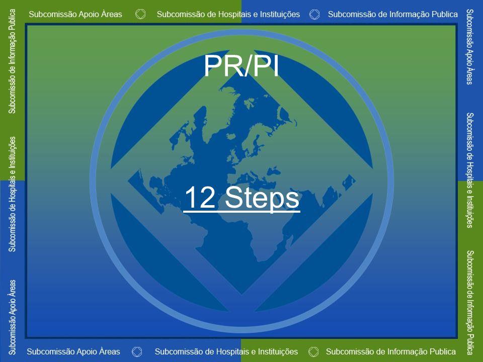 PR/PI 12 Steps