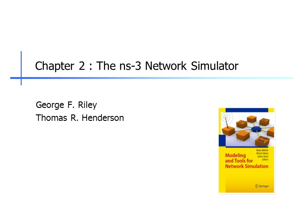 2 ns-3 Introduction ns-3 (http://www.nsnam.org) is a free, open source software project building and maintaining a discrete-event network simulator for research and education Technical goals:  Build and maintain a simulation core aligned with the needs of the research community  Help to improve the technical rigor of network simulation practice