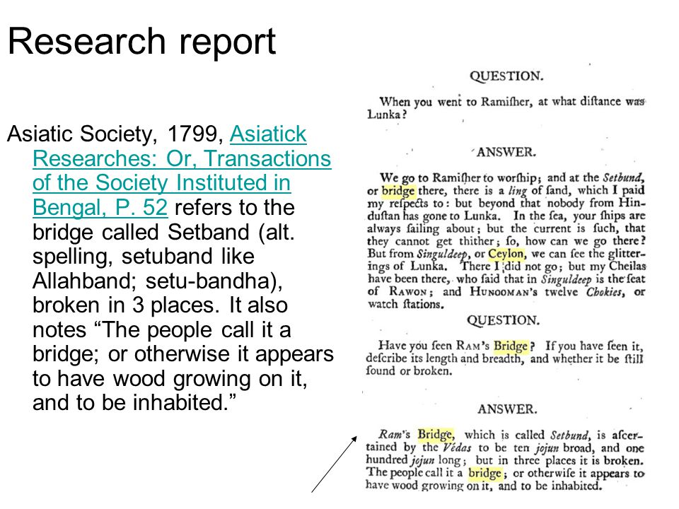 11 Research report Asiatic Society, 1799, Asiatick Researches: Or, Transactions of the Society Instituted in Bengal, P.