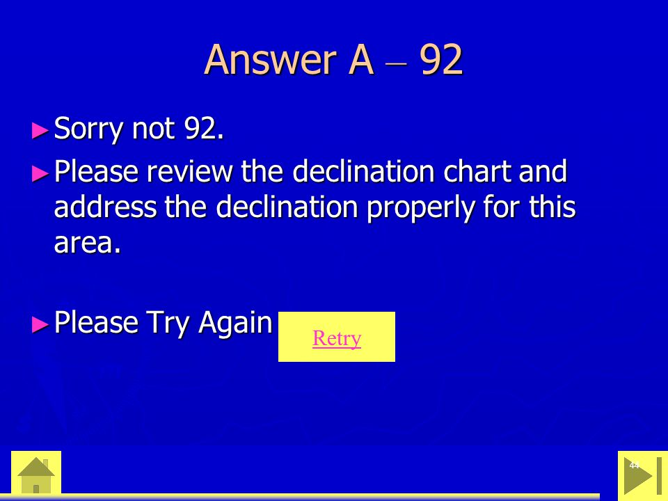 0 23 46 44 Answer A – 92 ► Sorry not 92.