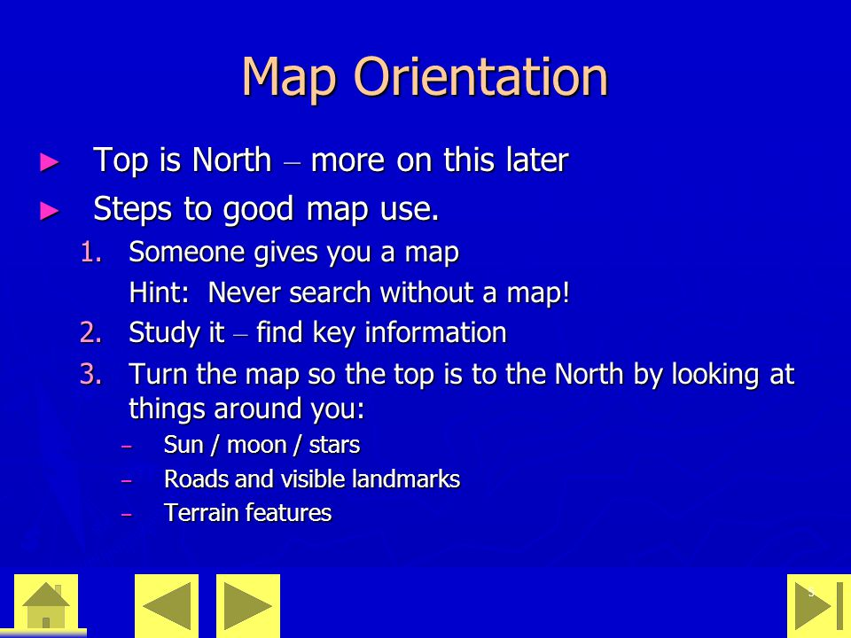 0 23 46 36 Recommendation Memorize WAM West Declination, add going Map to Compass EastDeclinationWestDeclination Map to CompassSubtractAdd Compass to MapAddSubtract