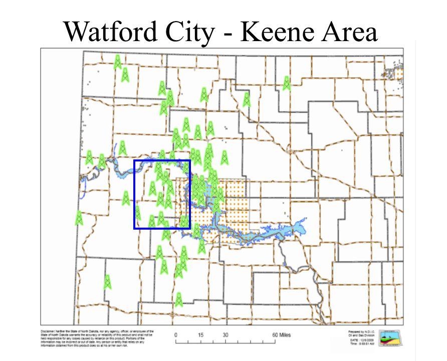 Watford City - Keene Area