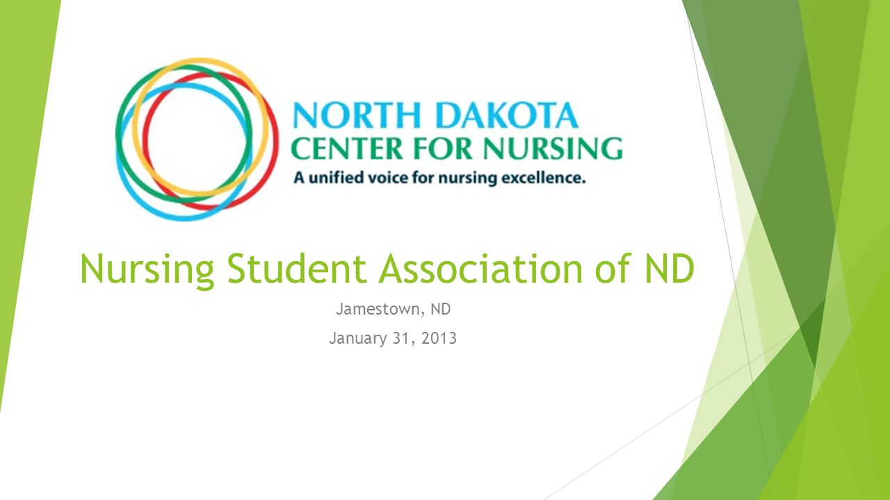 Nursing Student Association of ND Jamestown, ND January 31, 2013