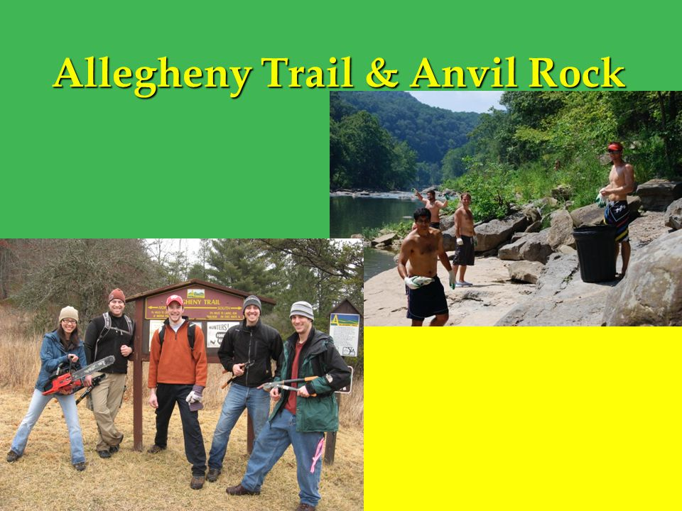 Allegheny Trail & Anvil Rock