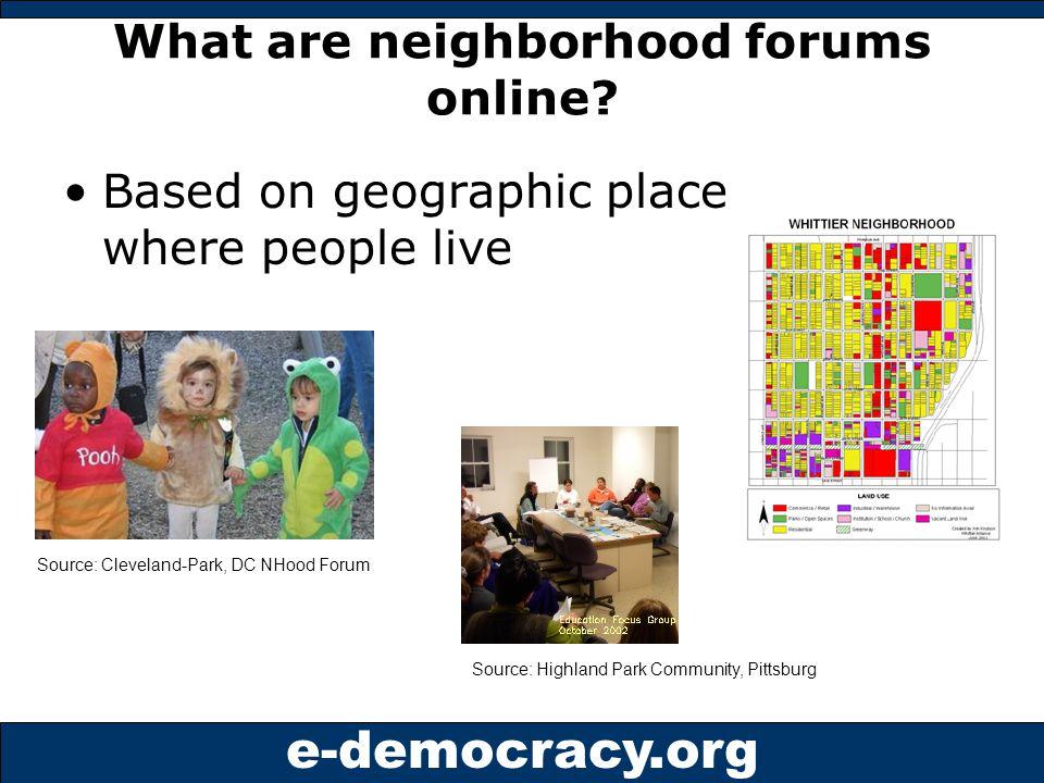 e-democracy.org Sample Forum Entering reply here