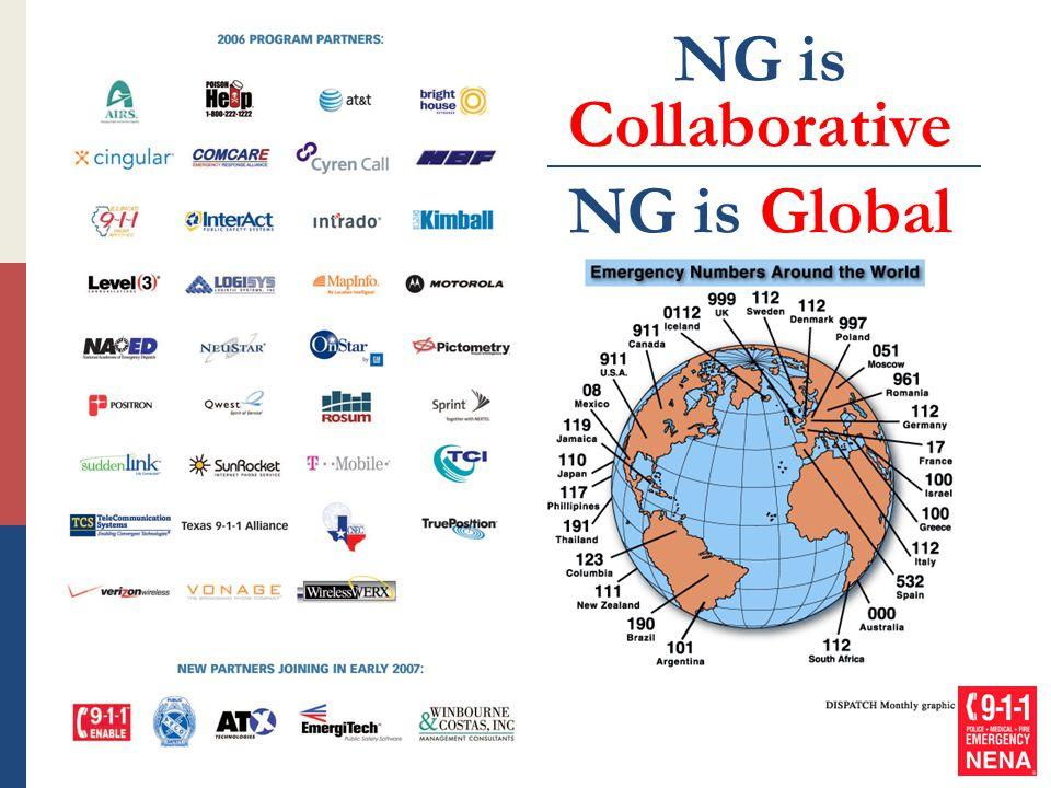 NG is Collaborative NG is Global