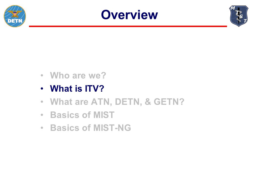 What is ITV.