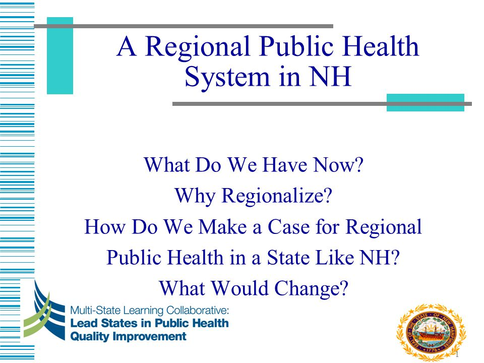 2 What Does Public Health Look Like in NH Today.