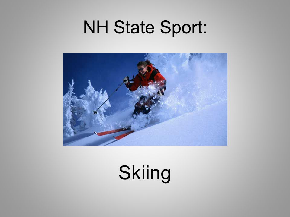 NH State Sport: Skiing