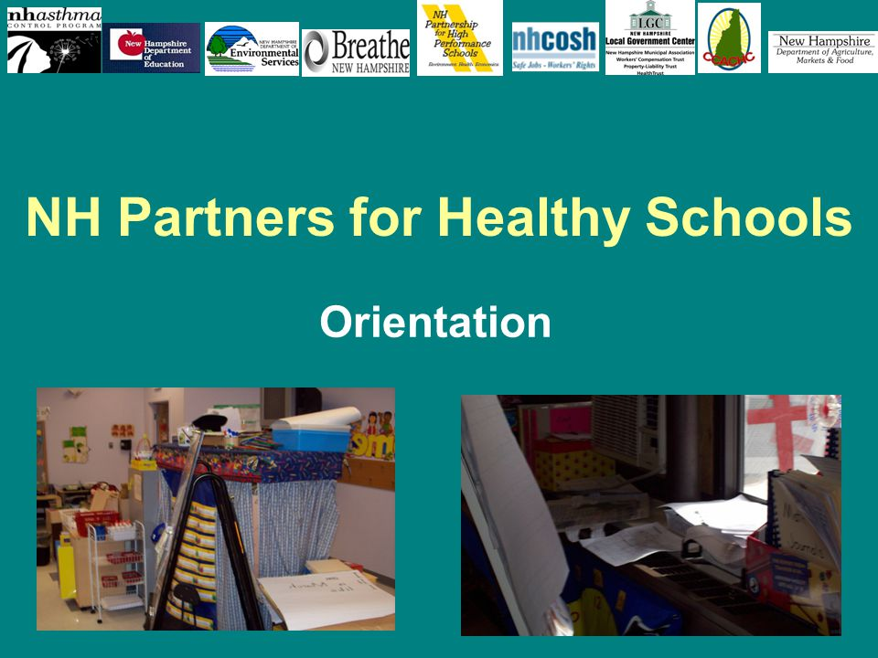 1 NH Partners for Healthy Schools Orientation