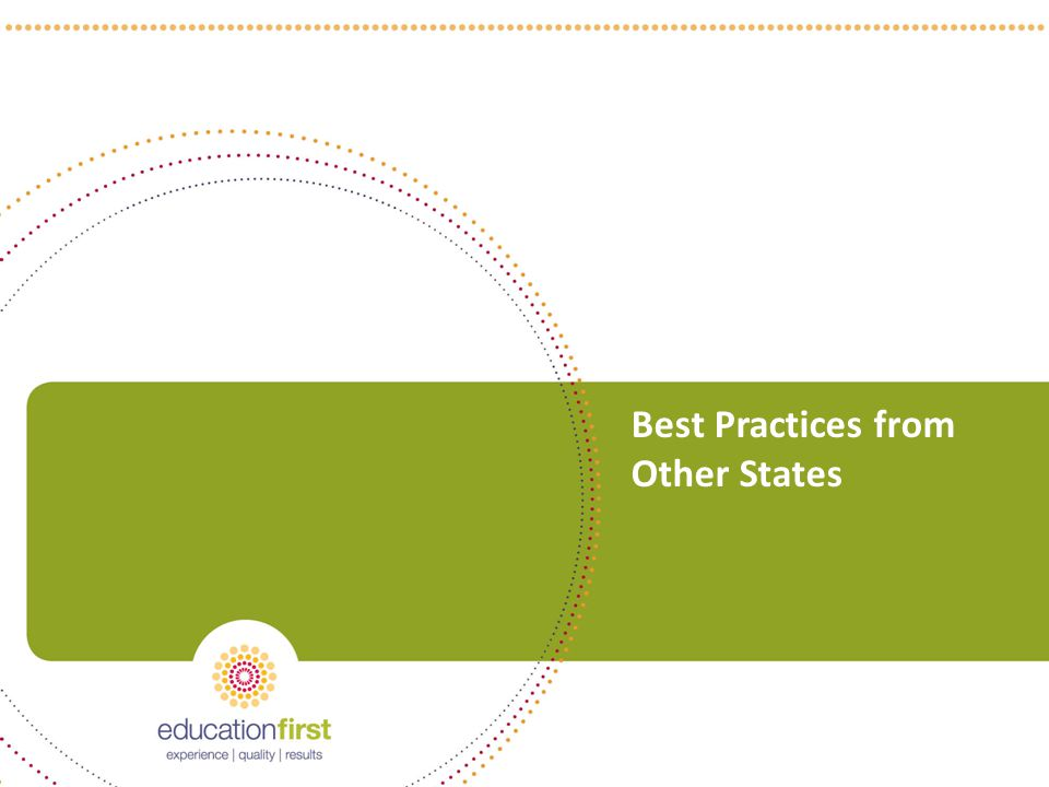 Best Practices from Other States 37