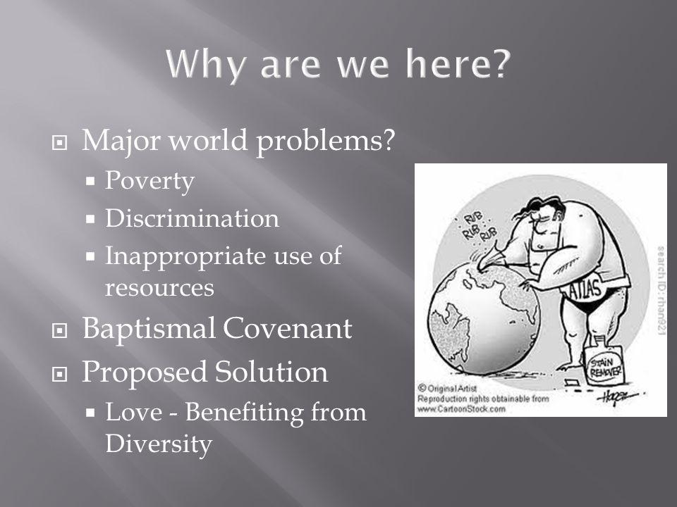  Major world problems.