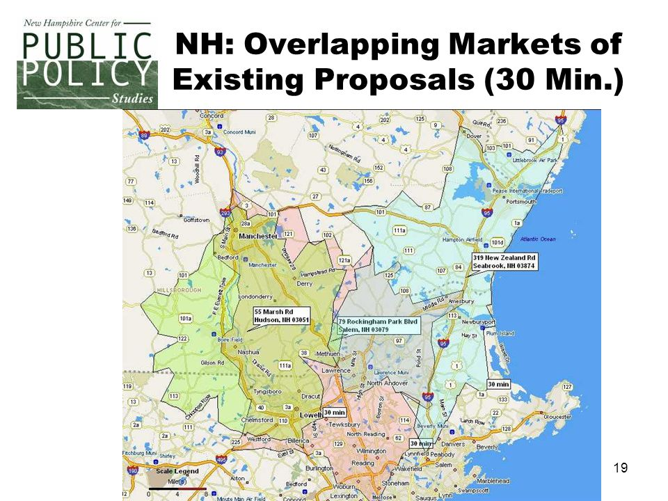 19 NH: Overlapping Markets of Existing Proposals (30 Min.)