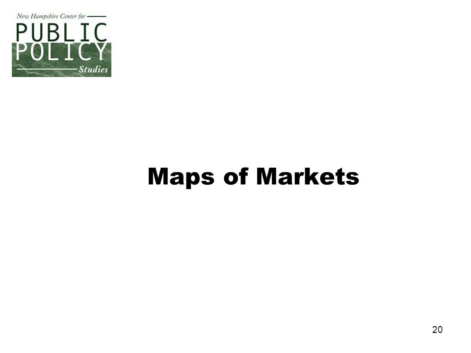 20 Maps of Markets