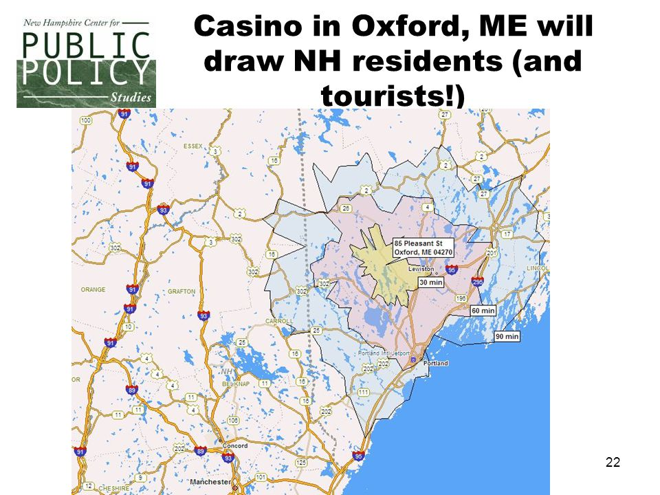22 Casino in Oxford, ME will draw NH residents (and tourists!)