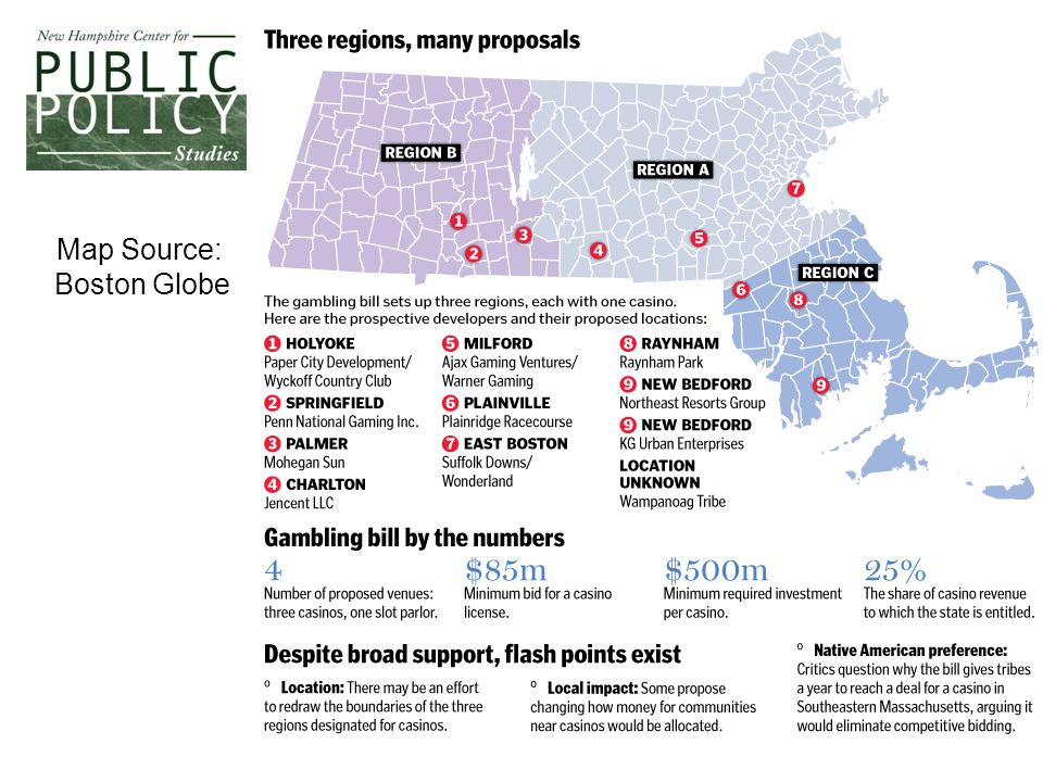 8 Map Source: Boston Globe