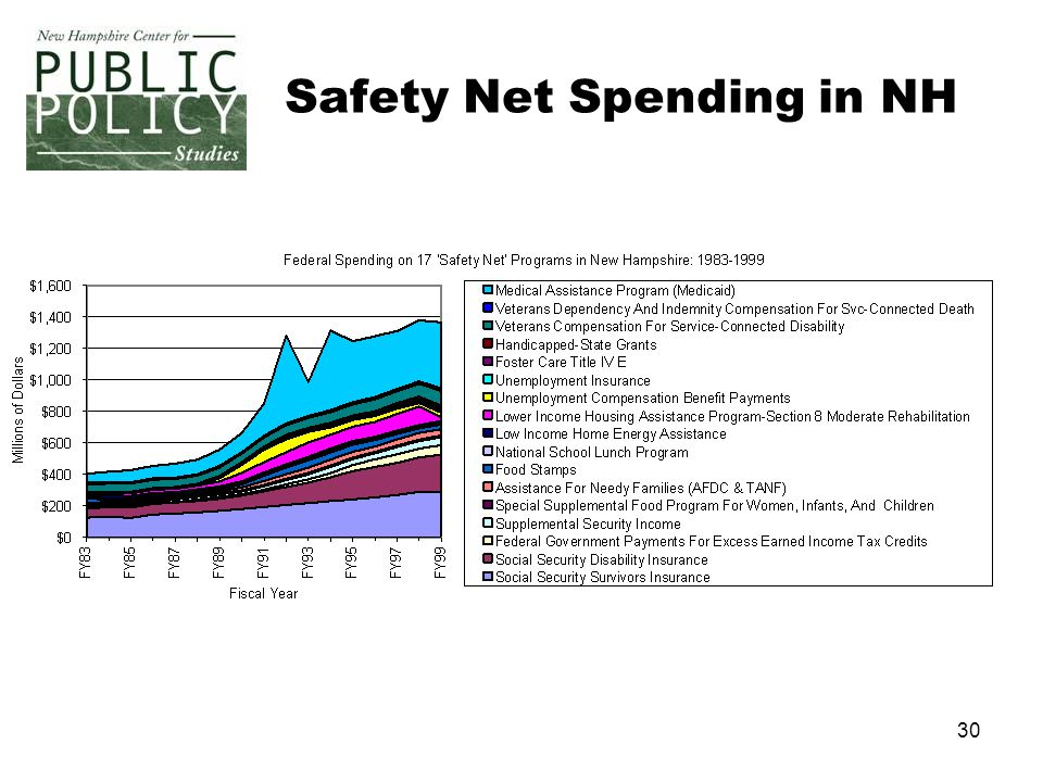 30 Safety Net Spending in NH