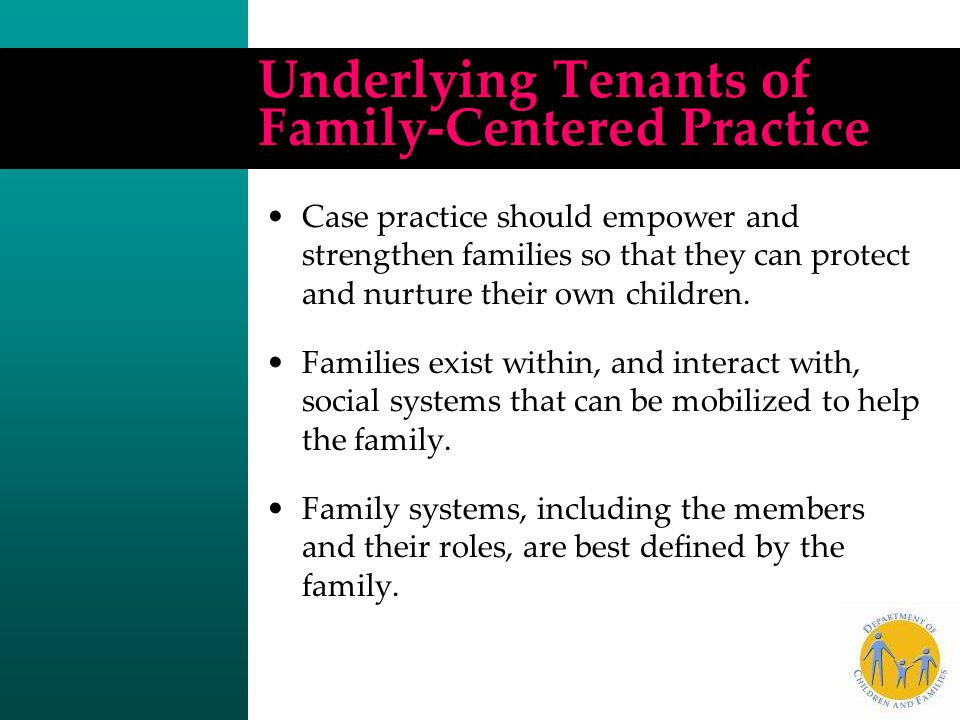 Family autonomy is to be respected.