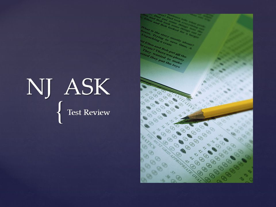 { NJ ASK Test Review