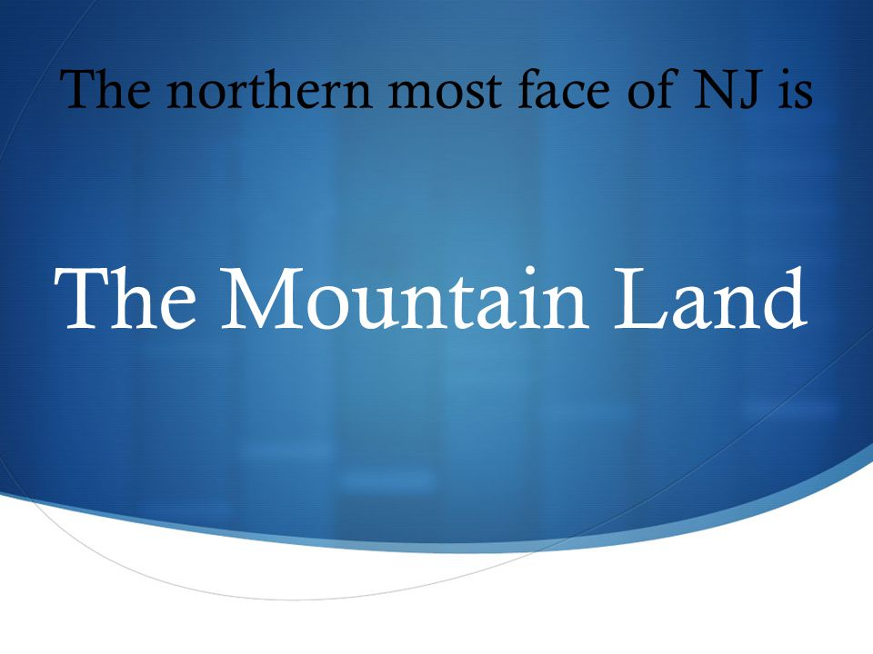 The Mountain Land