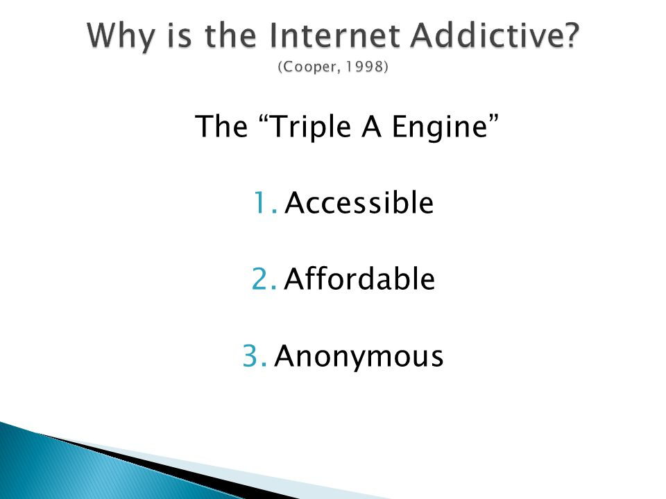 """The """"Triple A Engine"""" 1.Accessible 2.Affordable 3.Anonymous"""