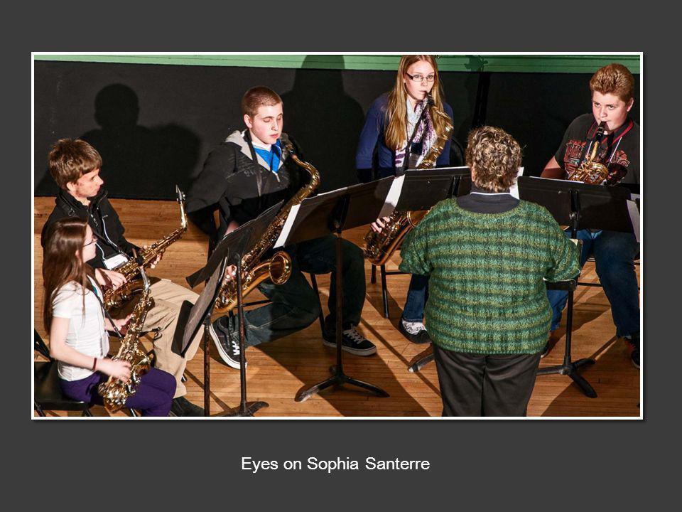 Eyes on Sophia Santerre