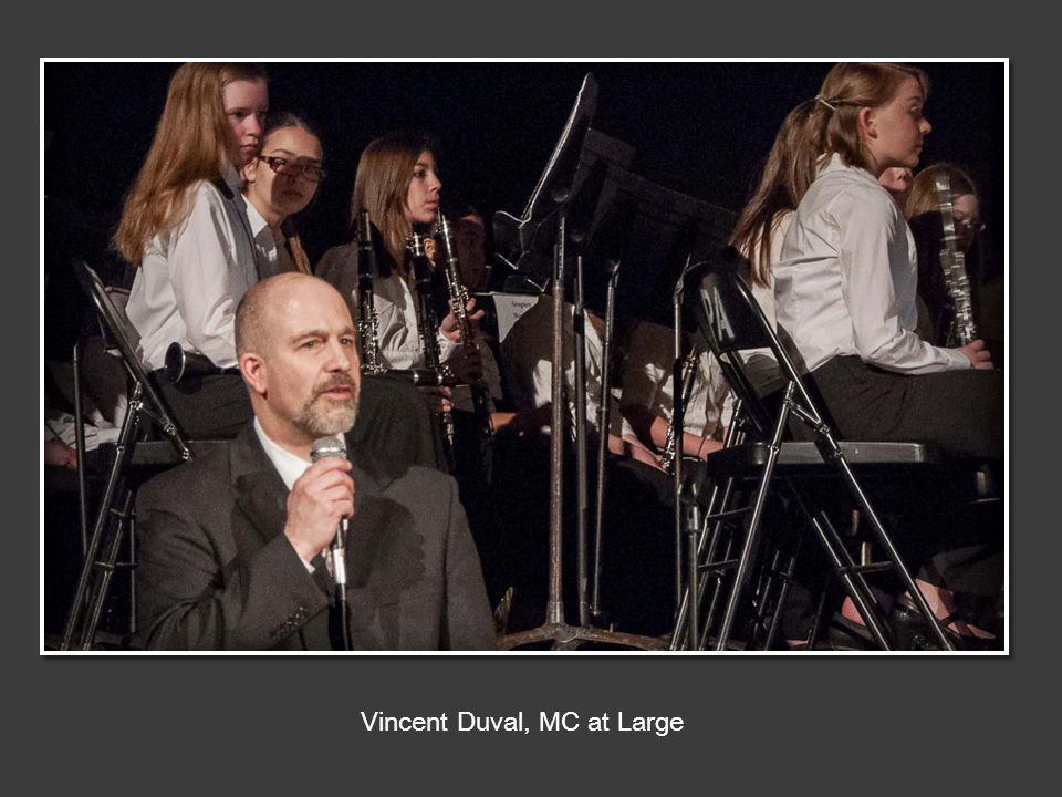 Vincent Duval, MC at Large