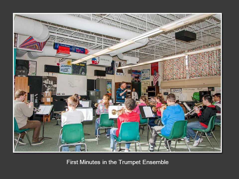 First Minutes in the Trumpet Ensemble