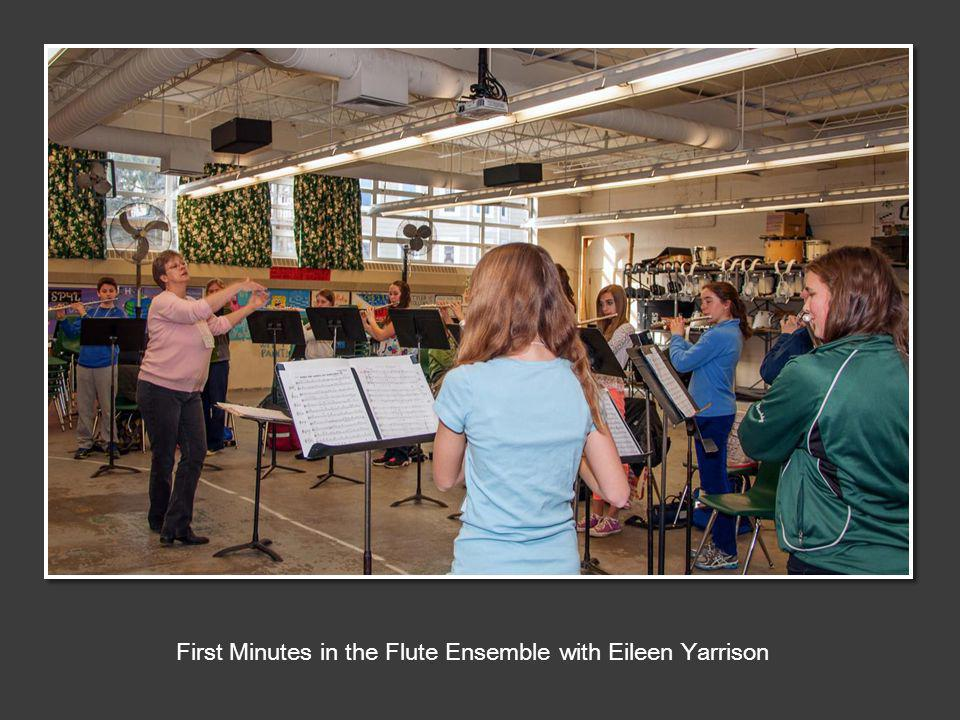 First Minutes in the Flute Ensemble with Eileen Yarrison