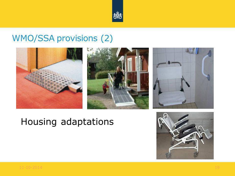 WMO/SSA provisions (2) Housing adaptations 11-10-201419