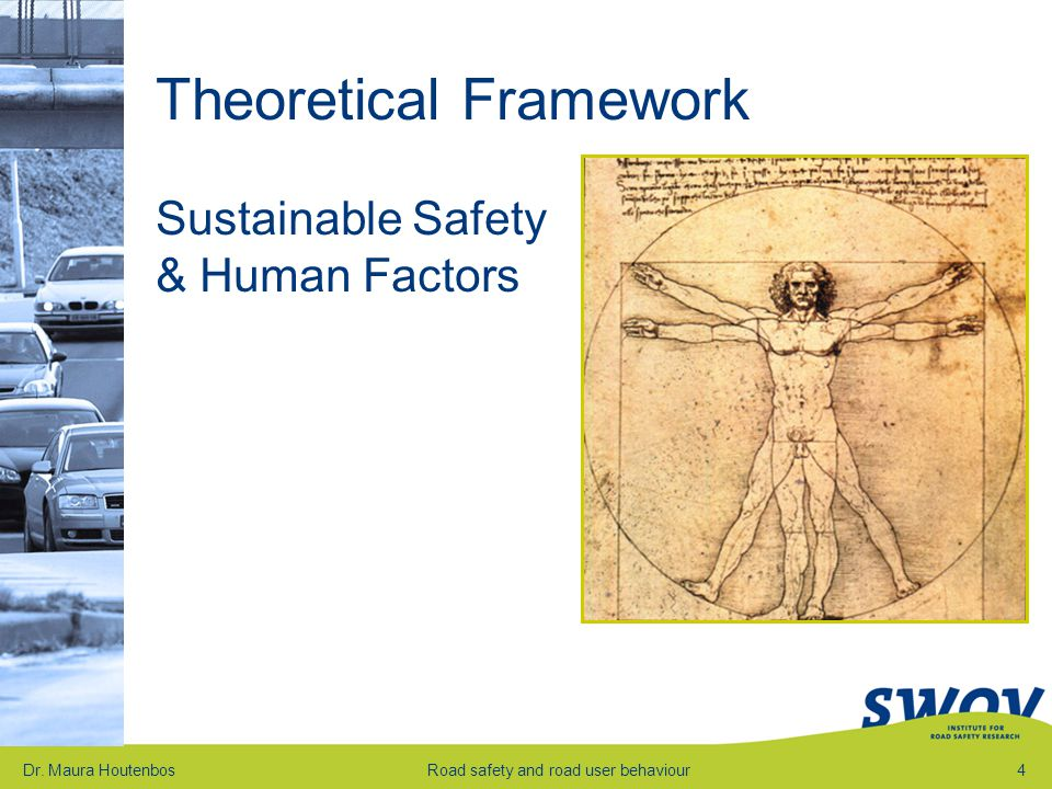 Theoretical Framework Sustainable Safety & Human Factors Dr.