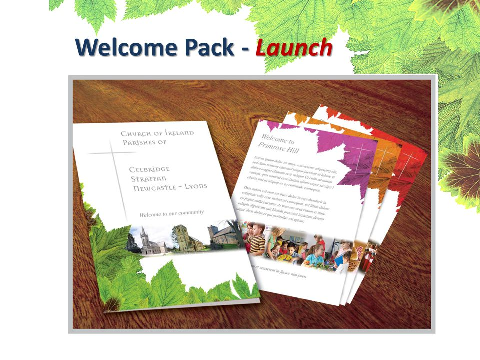 Welcome Pack - Launch