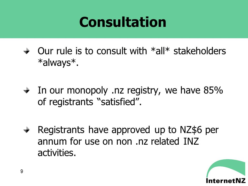 10 Telecoms Regulation Telecom NZ privatised in 1990 Now joined by TelstraClear and other, smaller telco providers No specific sector regulation – ordinary competition law only until 2001 2001 Telecommunications Act still extremely light- handed by international standards This follows the hands off approach already discussed.
