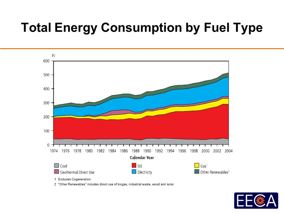 Total Energy Consumption by Fuel Type