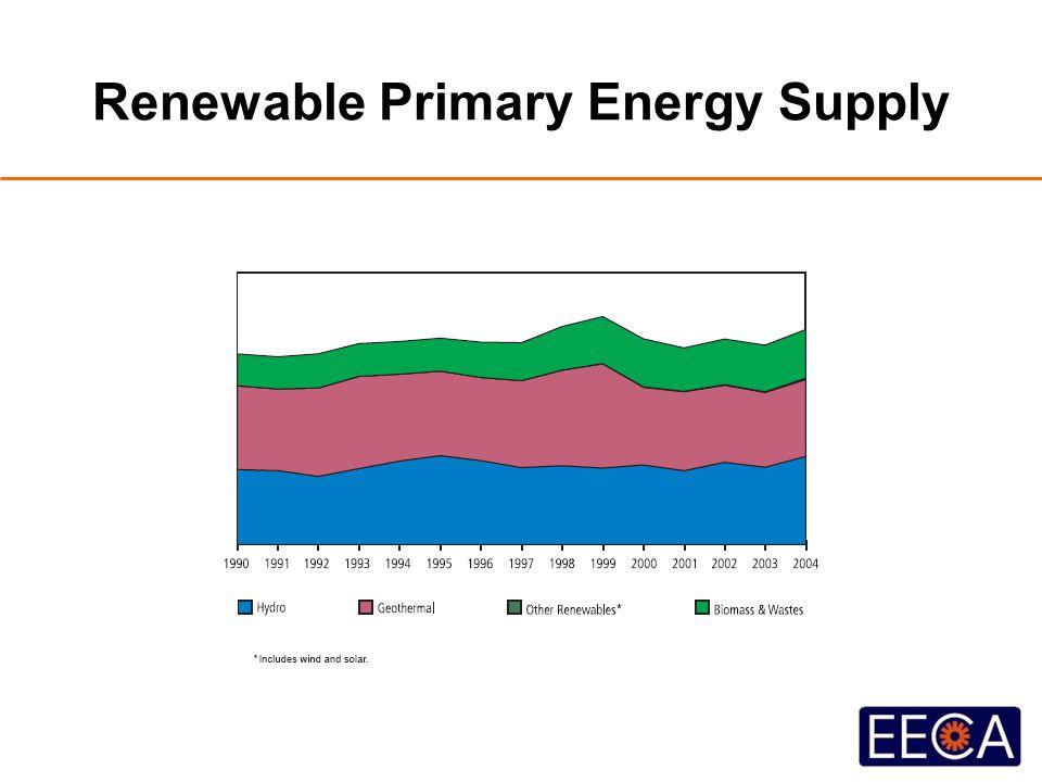 Renewable Primary Energy Supply