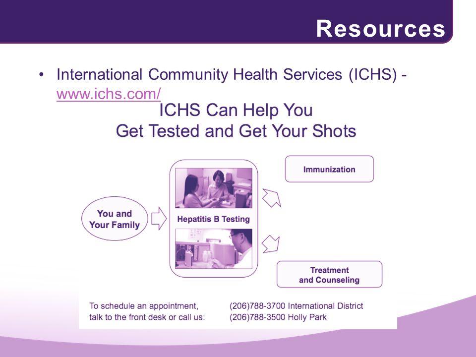 Resources International Community Health Services (ICHS) - www.ichs.com/ www.ichs.com/