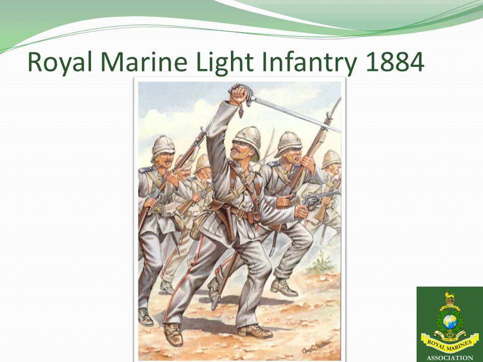 Royal Marine Light Infantry 1884